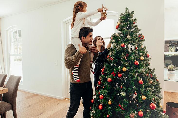 Conseils d'entreposage des décorations de Noël