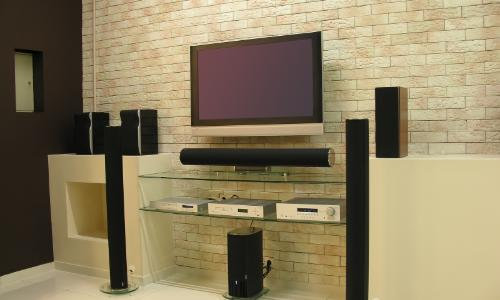 Large electronics in the home