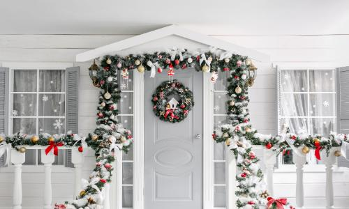 Decorations on the outside of home