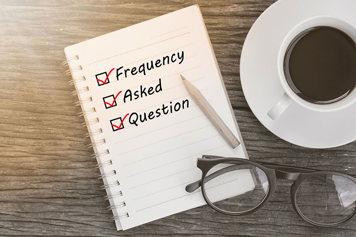 Frequently asked questions about self storage facilities.
