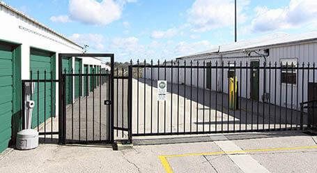 StorageMart 338 Ave East in Okotoks Gated Access
