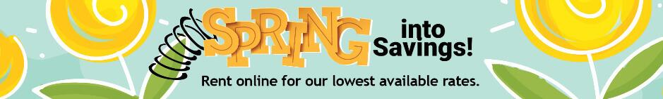 StorageMart Discounts- Spring Sales Event