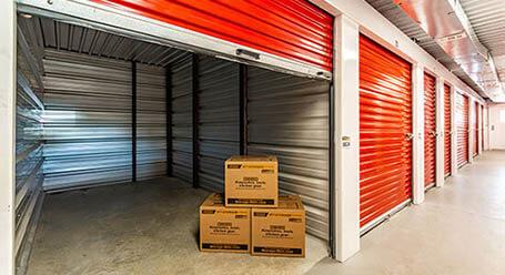 StorageMart en Braun Road en San Antonio Control climático