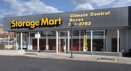 StorageMart en Broadway Blvd en Kansas City unidades de almacenamiento