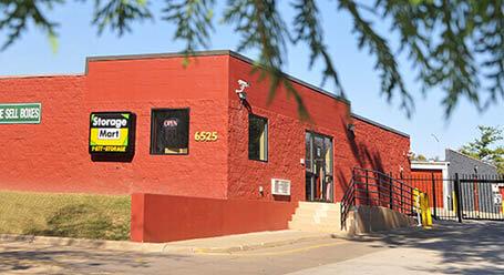 StorageMart en Center Street en Windsor Heights almacenamiento