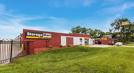 StorageMart en East 14th Street en Des Moines Almacenamiento