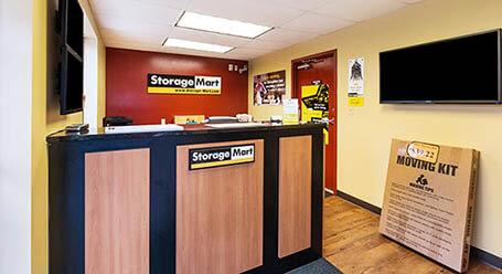 StorageMart en East 14th Street en Des Moines instalación de almacenamiento