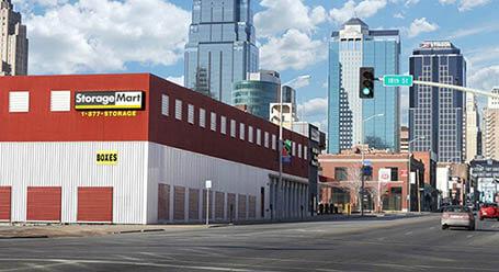 StorageMart en Grand Boulevard en Kansas-City Almacenamiento