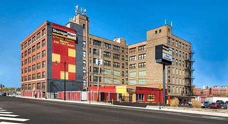 StorageMart en Halsted Street en Chicago instalación de almacenamiento