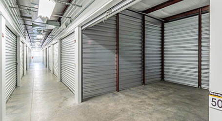 StorageMart en Hickman road en Windsor Heights Control climático