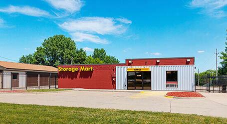 StorageMart en Merle Hay Road en Johnston almacenamiento