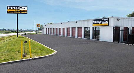 StorageMart en North Church Road en Pleasant Valley Almacenamiento