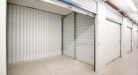 StorageMart en North Columbia Street en Milledgeville almacenamiento interior