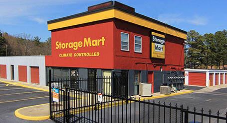 StorageMart en North Columbia Street en Milledgeville Almacenamiento