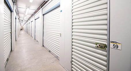 StorageMart en North Columbia Street en Milledgeville Control climático