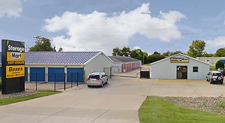 StorageMart en Northwest Boulevard en Davenport Almacenamiento