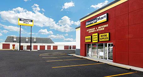 StorageMart en Rangeline en Columbia Almacenamiento