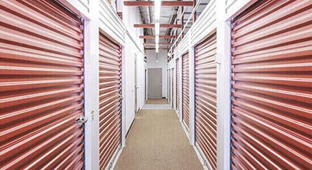 StorageMart en Rangeline en Columbia Control climático