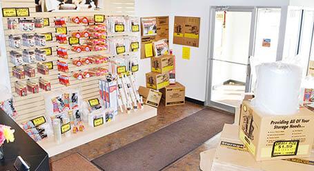 StorageMart en Rangeline en Columbia instalación de almacenamiento