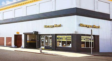 StorageMart en San Pablo Avenue en Oakland Almacenamiento