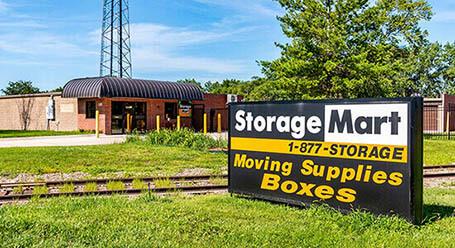 StorageMart en South 13th Street en West Des Moines Almacenamiento