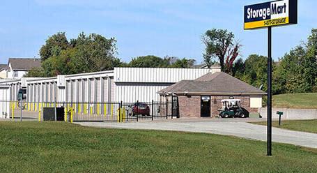 StorageMart en South State Route 291 en Lees Summit Almacenamiento