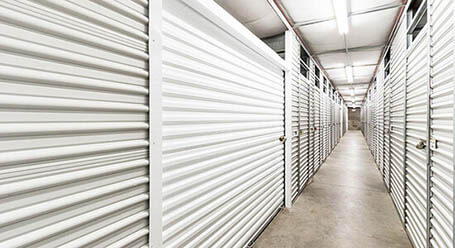 StorageMart en Southeast 14th street en Des Moines almacenamiento interior