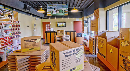 StorageMart en Southwest 16th avenue en Miramar instalación de almacenamiento