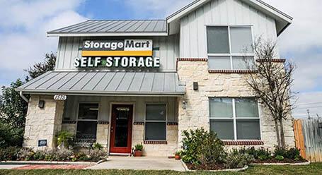 StorageMart en Thousand Oaks Drive en San Antonio unidades de almacenamiento