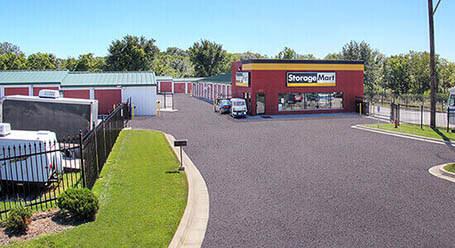 StorageMart en Wyandotte Street en Kansas City Almacenamiento
