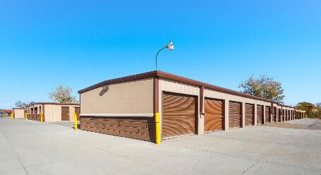 StorageMart on Irvington Rd in Omaha drive-up storage units