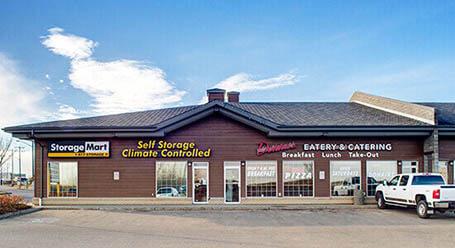 StorageMart on 115 Ave NW in Edmonton Self Storage