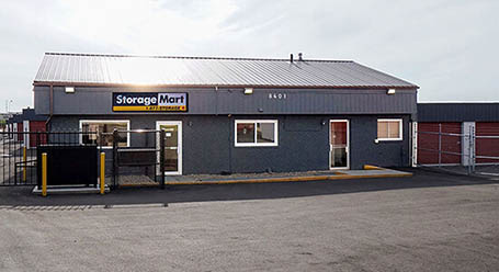 StorageMart on 18th Street in Edmonton Self Storage
