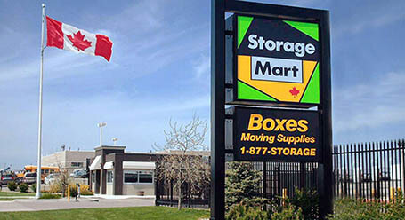 StorageMart on 2 Ave S in Lethbridge Self Storage