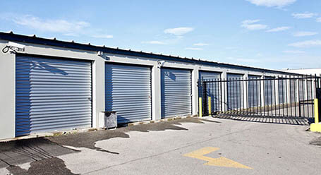 StorageMart on 40 St SE in Calgary gated access