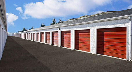 StorageMart on 5th Street Southwest in Calgary drive up units
