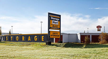 StorageMart on 5th Street Southwest in Calgary self storage