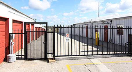 StorageMart en Army Post Road en Des Moines Acceso privado