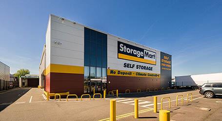 StorageMart on Bircholt Road in Maidstone self storage
