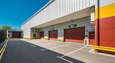 StorageMart on Bircholt Road in Parkwood loading bay