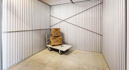 StorageMart en Church St en Lake Charles Control climático