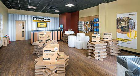 StorageMart on Crowhurst Rd in Hollingbury self storage for lease