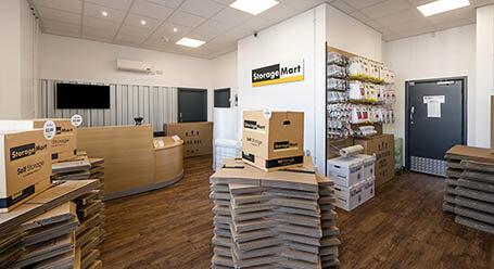 StorageMart on Durban Road in Bognor Regis self storage facility