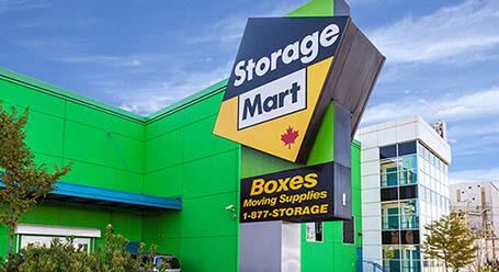 StorageMart on East Kent Avenue North in Vancouver Self Storage