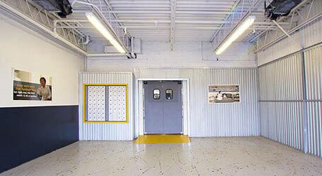 StorageMart on Evans Ave in Etobicoke Covered Loading Bay