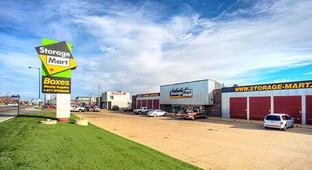 StorageMart on Fort Rd NW in Edmonton Self Storage