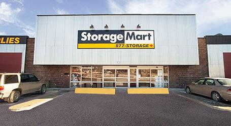 StorageMart on Fort Rd NW in Edmonton Self Storage Facility