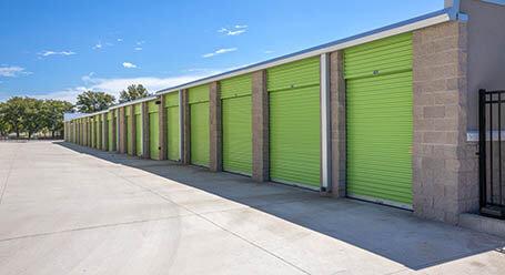 StorageMart on Glenwood St in Overland Park Drive-Up Units