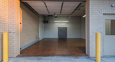 StorageMart on Harry Langdon Blvd in Council Bluffs Loading Bay