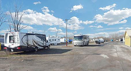 StorageMart on Herchimer Avenue in Belleville Boat and RV Parking